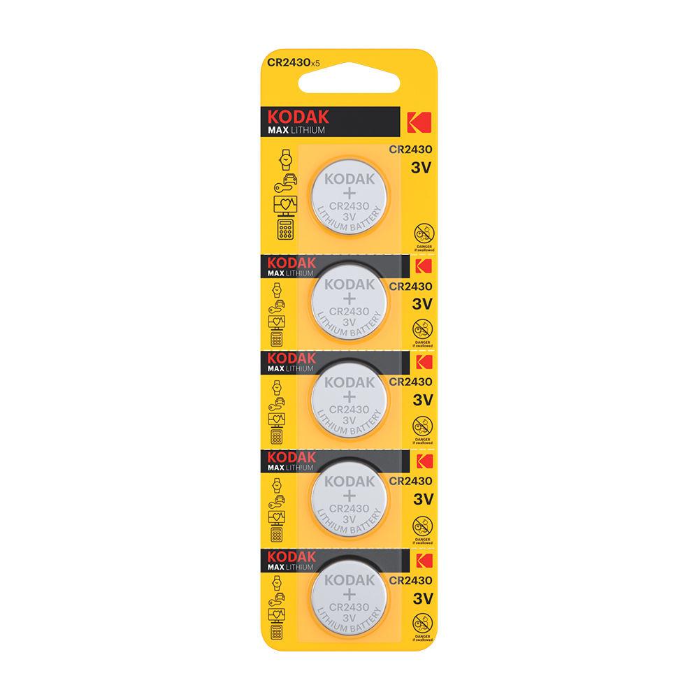 Kodak Ultra Lithium Gombelem CR2430 (3V) B5