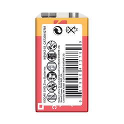 Kodak Extra Zinc Féltartós Elem 9V (shrink) S1