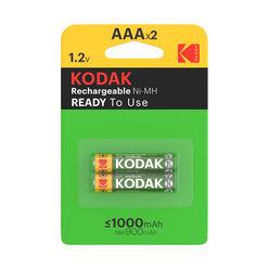 Kodak Akkumulátor Mikro 1000mAh Ni-Mh AAA B2