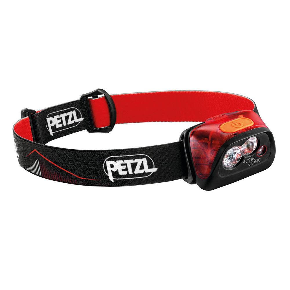 Petzl Fejlámpa ACTIK CORE Red (akkumulátoros - tartozék) (450 lumen)