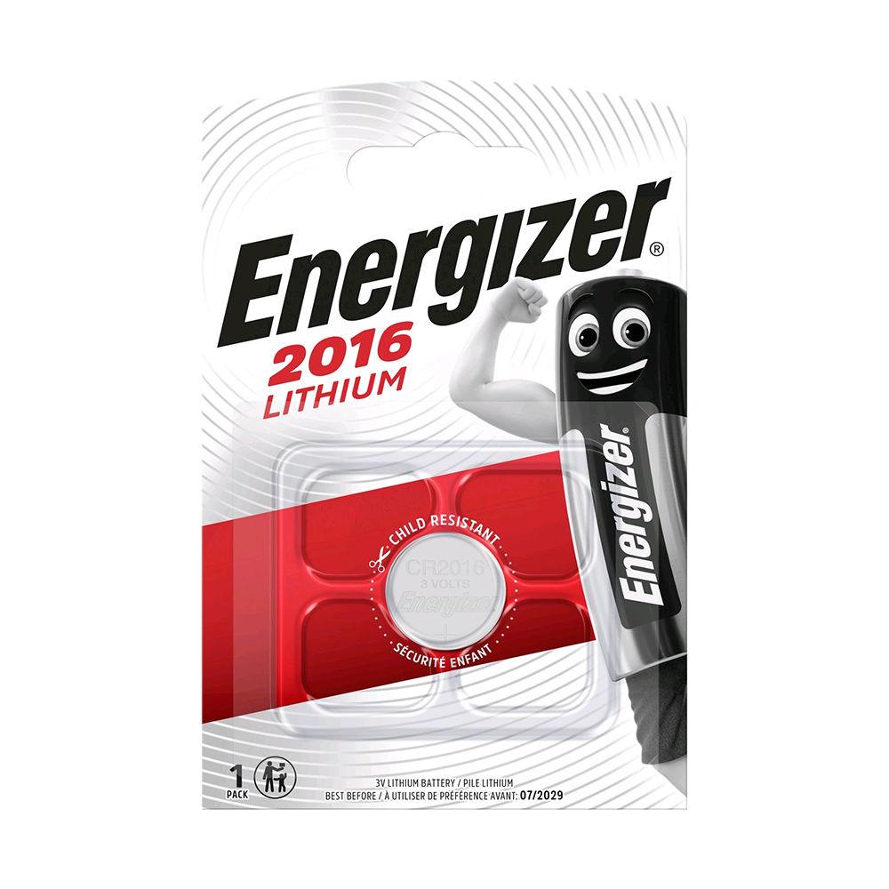 Energizer Gombelem Lithium CR2016 B1