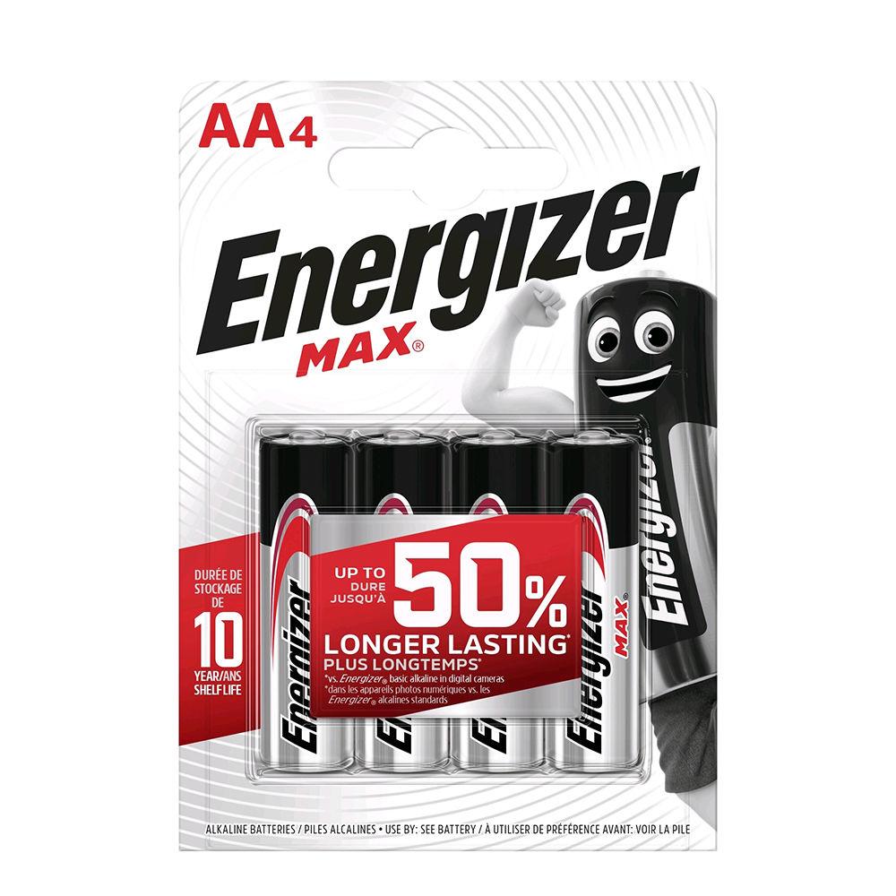 Energizer Max Alkáli Ceruza Elem AA B4