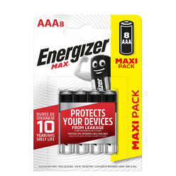 Energizer Max Alkáli Mikro Elem AAA B8