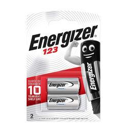 Energizer Lithium Fotó Elem CR123 3V B2