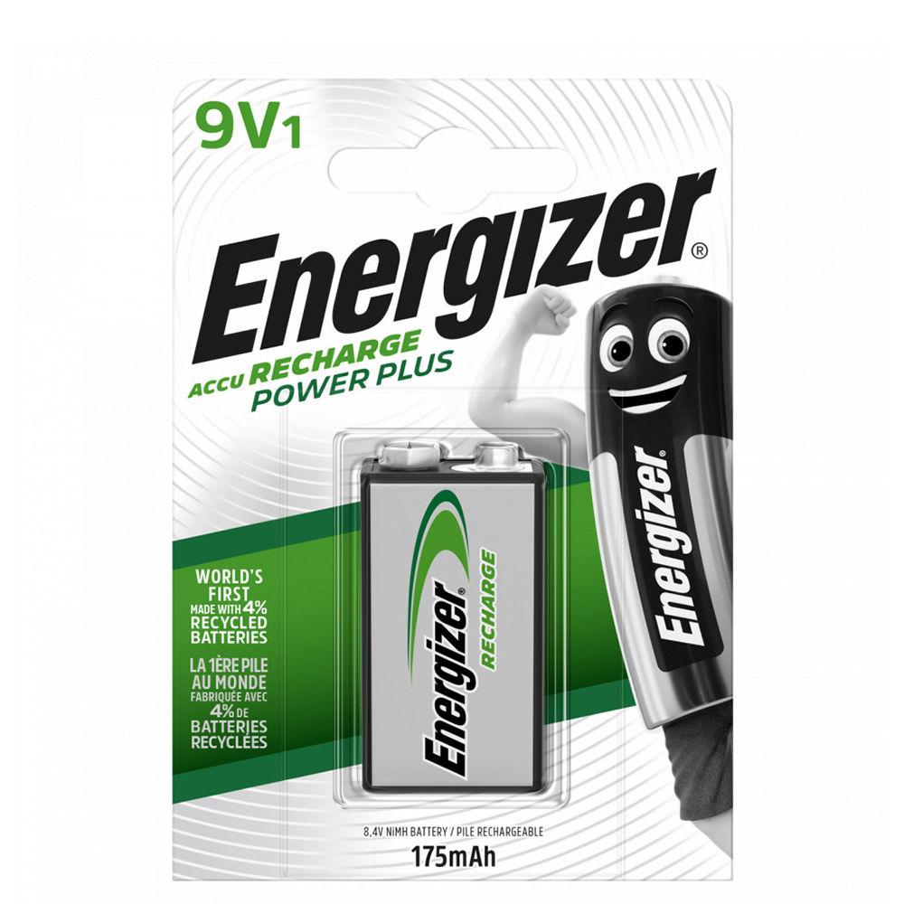 Energizer Akkumulátor Power Plus R2U 9V 175mAh B1
