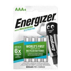Energizer Akkumulátor Extreme R2U Mikro 800mAh AAA B4