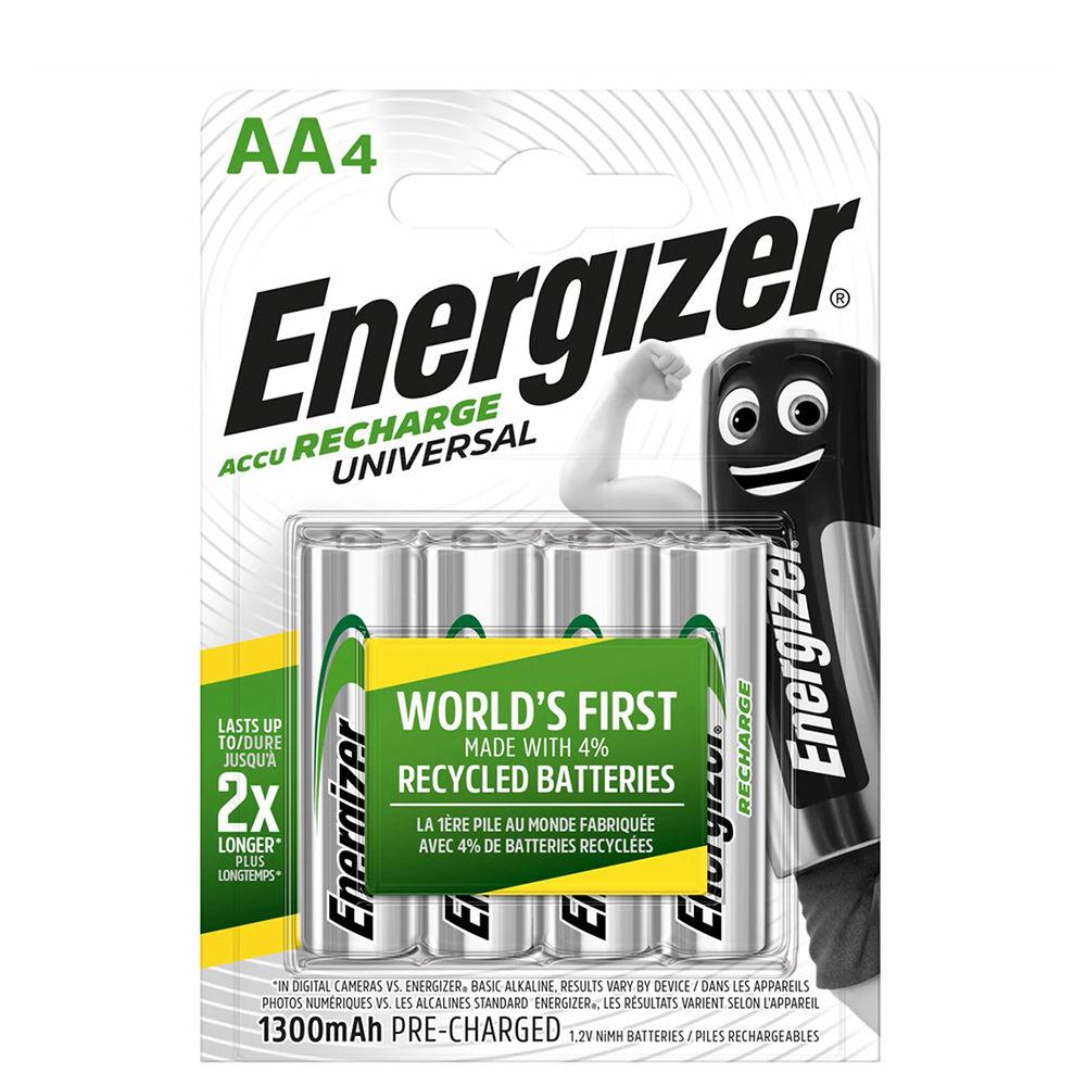 Energizer Akkumulátor Universal R2U Ceruza 1300mAh AA B4