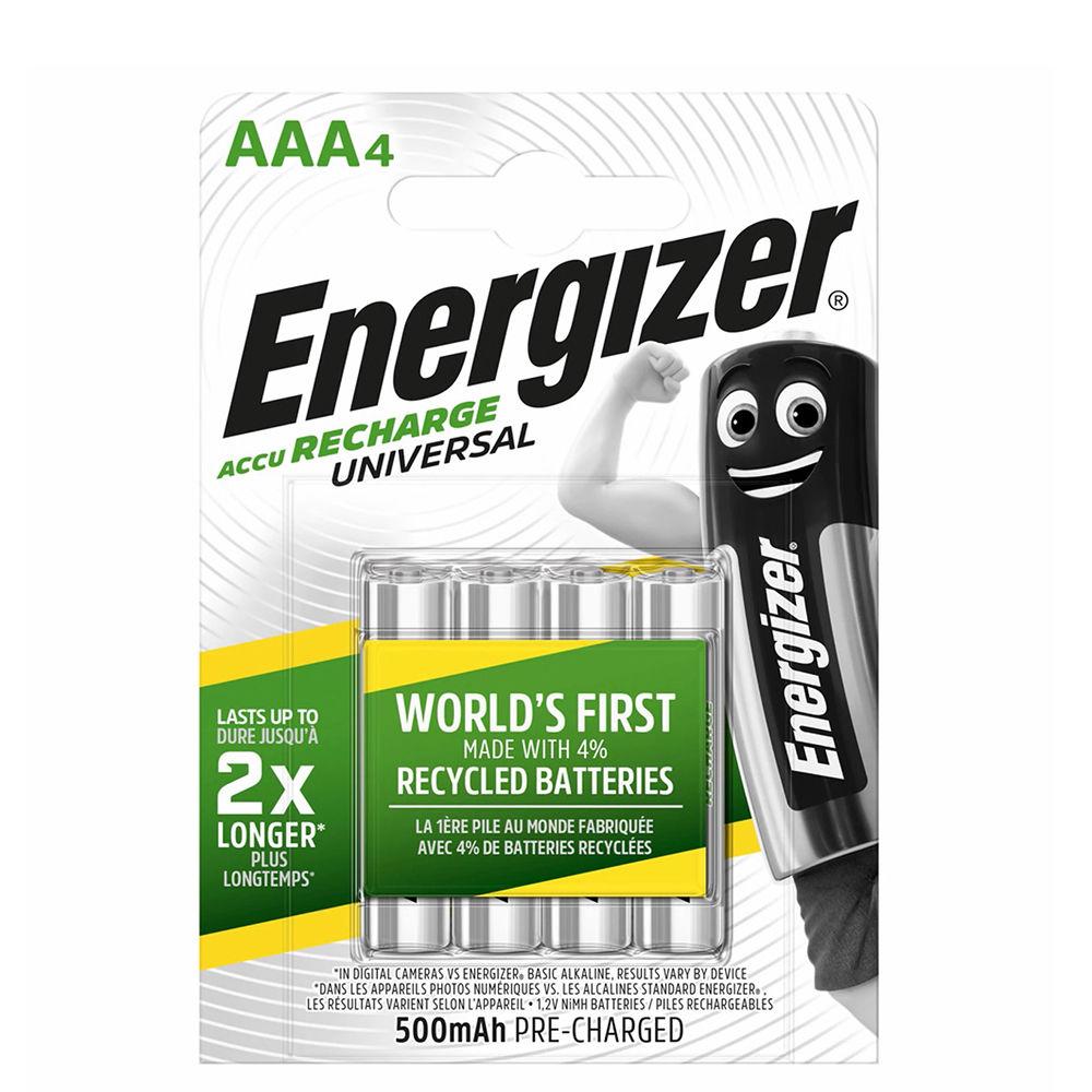Energizer Akkumulátor Universal R2U Mikro 500mAh AAA B4