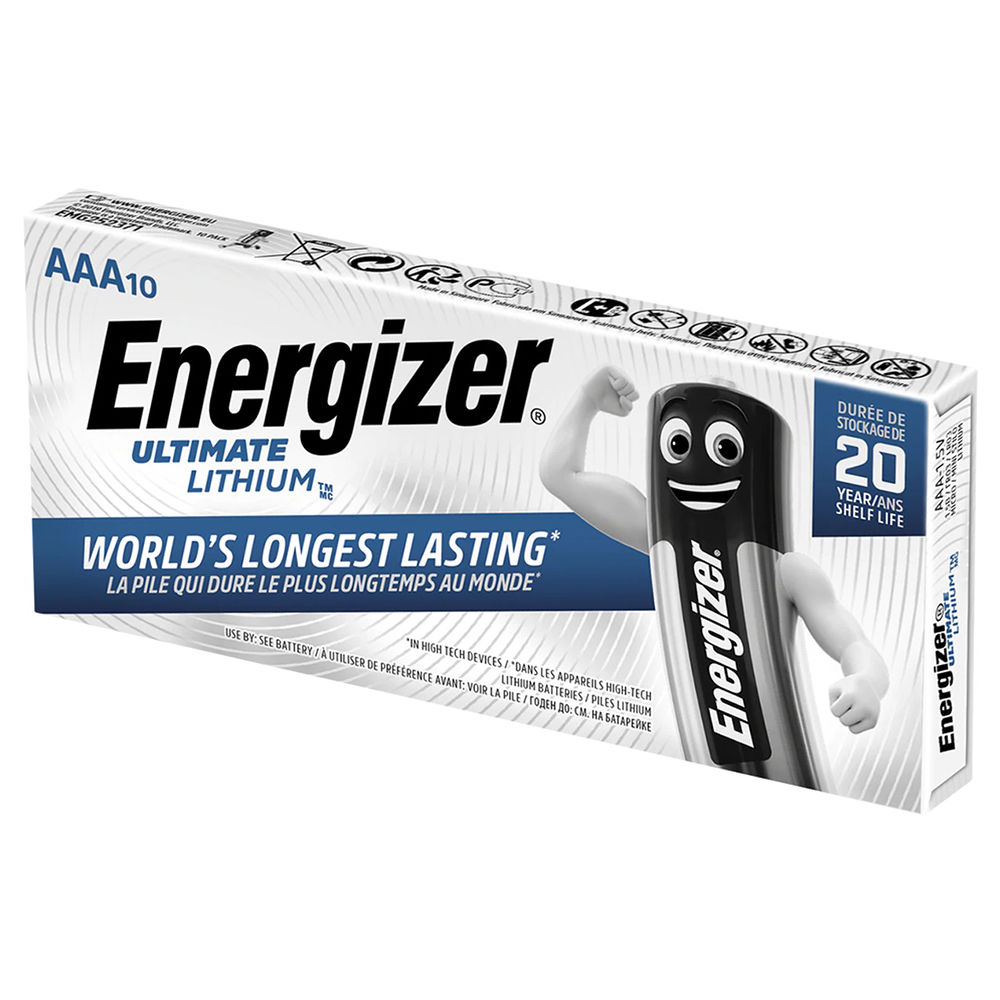 Energizer Ultimate Lithium Mikro Elem AAA P10