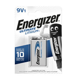 Energizer Ultimate Lithium Elem 9V B1