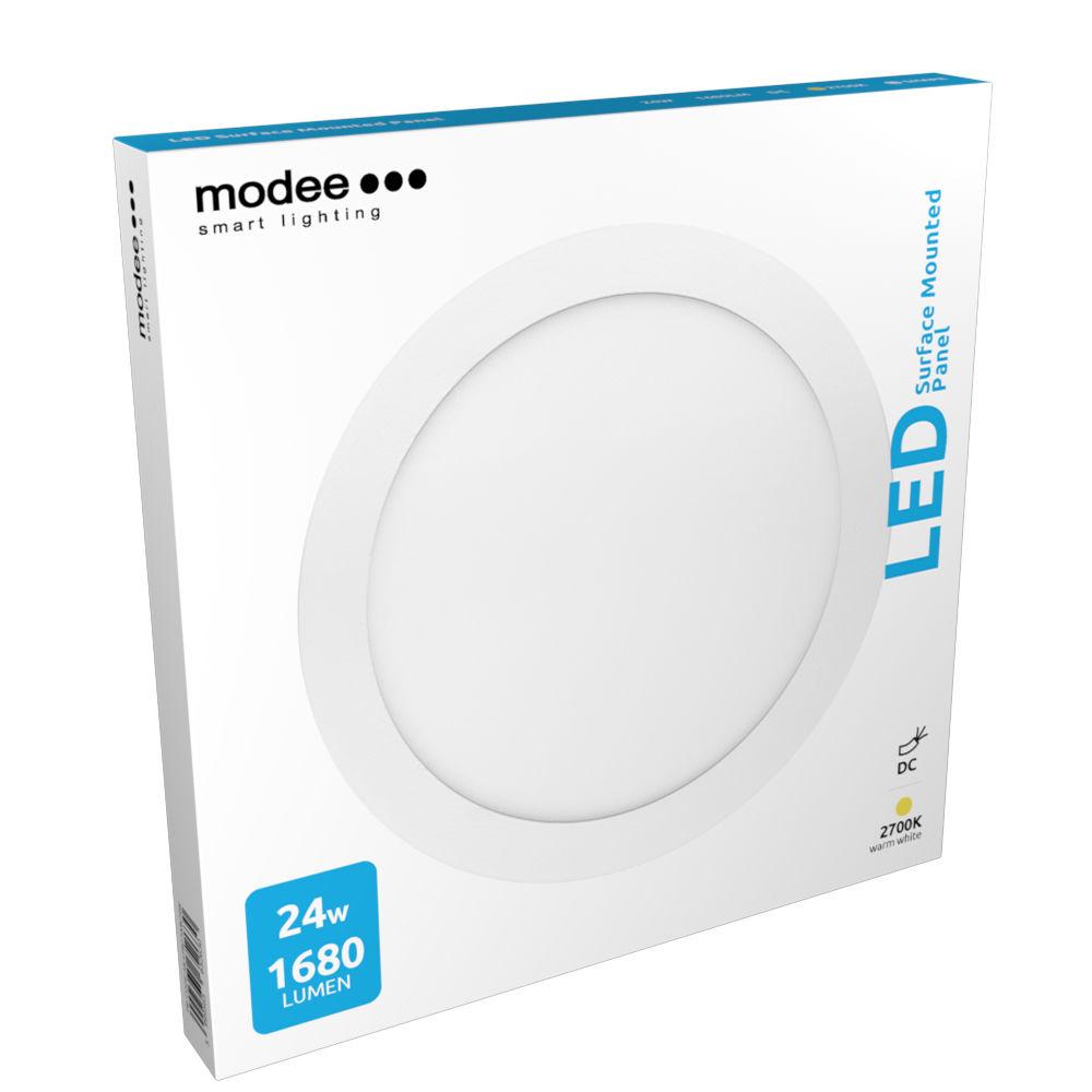 Modee Lighting LED Panel Kerek - Felszerelhető 24W 2700K (1680 lumen)