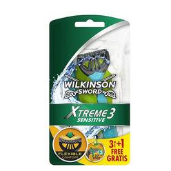 Wilkinson Xtreme 3 Sensitive Eldobható Borotva férfi B3+1