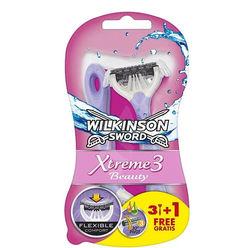 Wilkinson Xtreme 3 Beauty Eldobható Borotva női B3+1