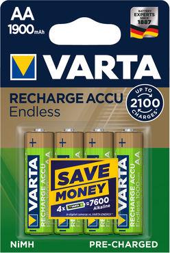 VARTA Akkumulátor Endless Energy R2U Ceruza 1900mAh AA B4