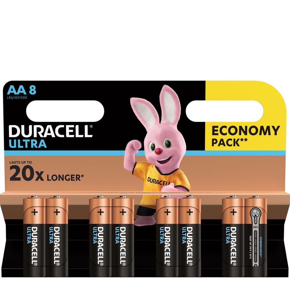 Duracell Ultra Power Alkáli Ceruza Elem AA (1,5V) B8