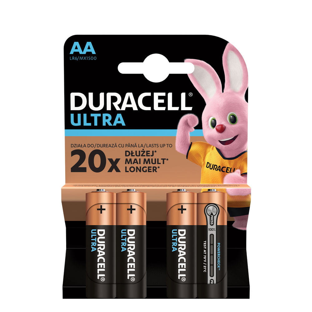Duracell Ultra Power Alkáli Ceruza Elem AA (1,5V) B4