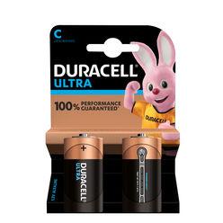 Duracell Ultra Power Alkáli Baby Elem C (1,5V) B2