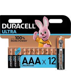 Duracell Ultra Power Alkáli Mikro Elem AAA (1,5V) B12