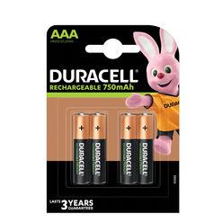 Duracell Akkumulátor R2U Mikro 750mAh AAA B4