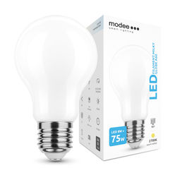 Modee Lighting LED Izzó Filament Milky A60 8W E27 360° 2700K (1055 lumen)