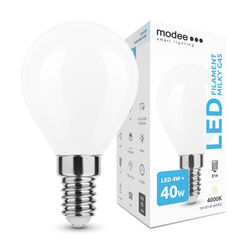 Modee Lighting LED Izzó Filament Milky G.Mini G45 4W E14 360° 4000K (430 lumen)