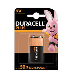 Duracell Plus Power Alkáli Elem 9V B1
