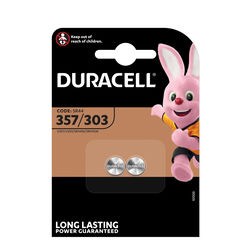 Duracell Gombelem Ezüst-Oxid 303/357 (1,5V) B2