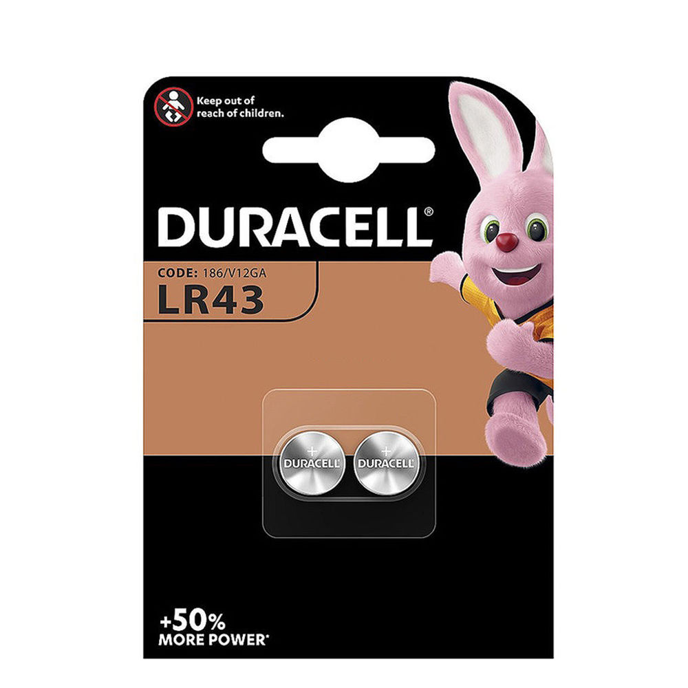 Duracell Gombelem Alkáli AG12 / LR43 (1,5V) B2