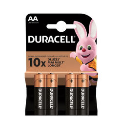 Duracell Basic Alkáli Ceruza Elem AA (MN1500) (1,5V) B4