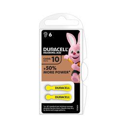 Duracell Hallókészülék Elem DA10 0%Hg (1,45V) B6
