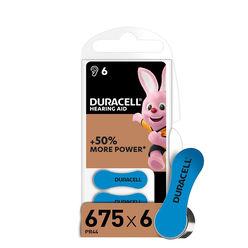 Duracell Hallókészülék Elem DA675 0%Hg (1,45V) B6