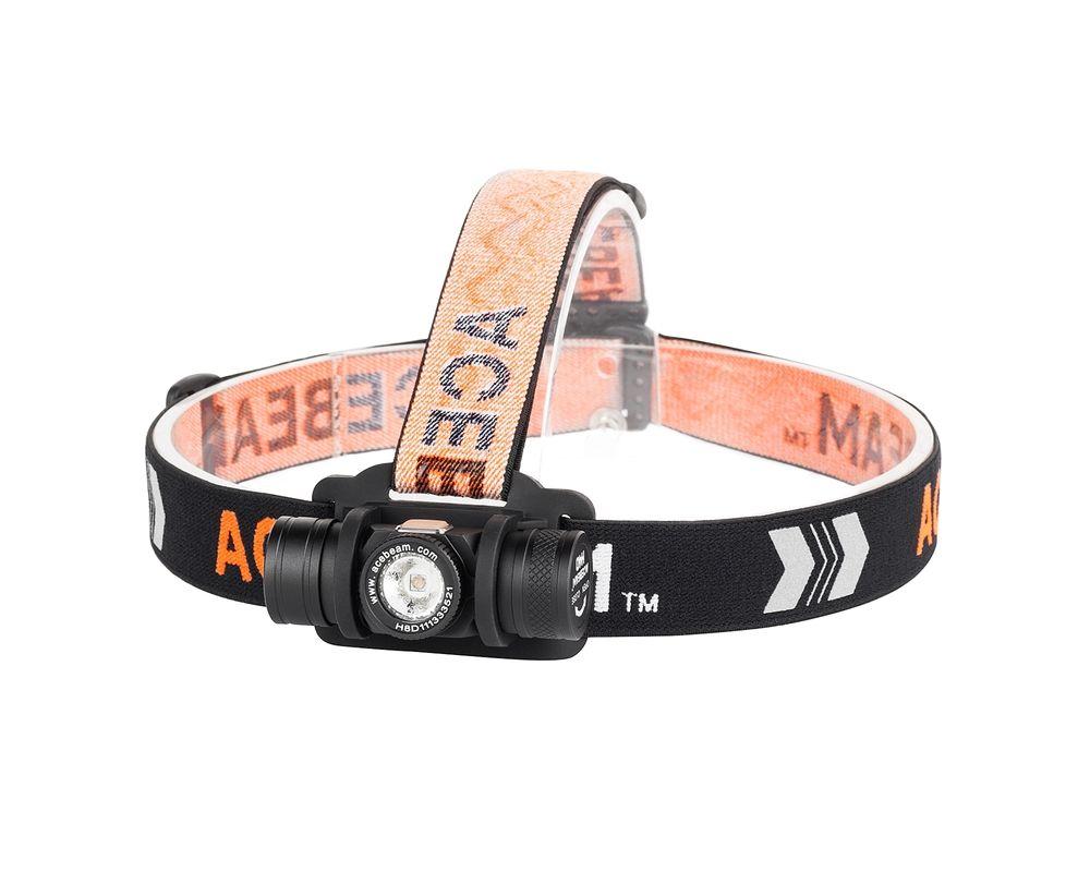 Acebeam Fejlámpa H40 (1xAA) CREE XP-L HD (1050 lumen)