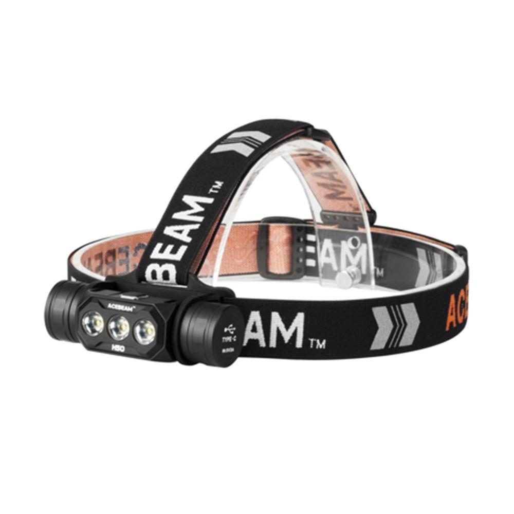 Acebeam Fejlámpa H50 (1x18650) SAMSUMG LH351D (2000 lumen)