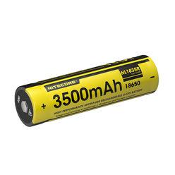Nitecore Kellék Akkumulátor 18650 NL1835R USB-s 3500mAh 2A 3,6V B1