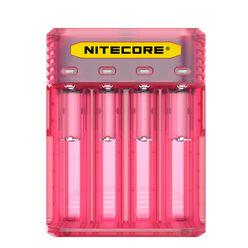 Nitecore Kellék Akkumulátor Gyorstöltő Q4 - Pink