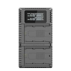 Nitecore Kellék Akkumulátor Töltő Sony Kamerához USN4 PRO