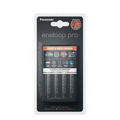 Panasonic Eneloop Akkutöltő +4 db 2500mAh AA (120min)