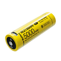 Nitecore Kellék Akkumulátor 21700 NL2150HPR 5000mAh 3,6V USB-s