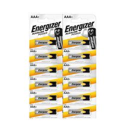 Energizer Alkaline Power Alkáli Mikro Elem AAA B12 (kartella)
