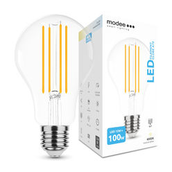 Modee Lighting LED Izzó Filament A70 12W E27 360° 4000K (1521 lumen)