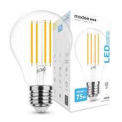 Modee Smart Lighting LED Izzó Filament A67 8W E27 360° 4000K (980 lumen)