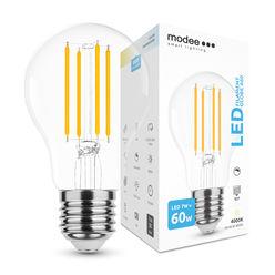 Modee Smart Lighting LED Izzó Filament A60 7W E27 360° 4000K (750 lumen) dimm.