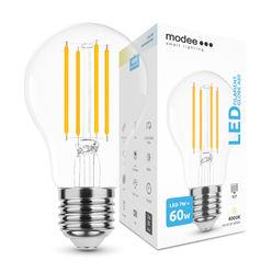 Modee Smart Lighting LED Izzó Filament A60 7W E27 360° 4000K (760 lumen)