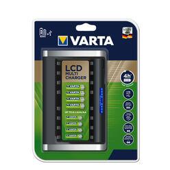 VARTA Akkutöltő LCD Multi üres 8 csatornás (AA/AAA) (240min)