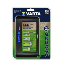 VARTA Akkutöltő LCD Univerzális (AA/AAA/C/D/9V) (üres)