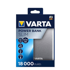 VARTA Power Bank Slim 18000mAh
