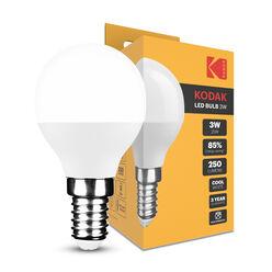 KODAK Max LED Izzó Globe Mini G45 3W E14 270° 4000K (250 lumen)