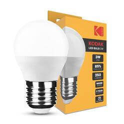 KODAK Max LED Izzó Globe Mini G45 3W E27 270° 2700K (250 lumen)