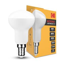 KODAK Max LED Izzó R50 6W E14 120° 2700K (520 lumen)