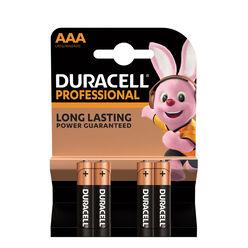 Duracell Professional Alkáli Mikro Elem AAA (1,5V) B4